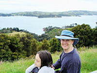 Lucy & Kevin, Connells Bay, Waiheke Island
