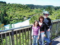 Lucy, Lizzie, Kevin, Huka Falls